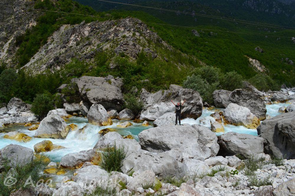 lazurowy potok