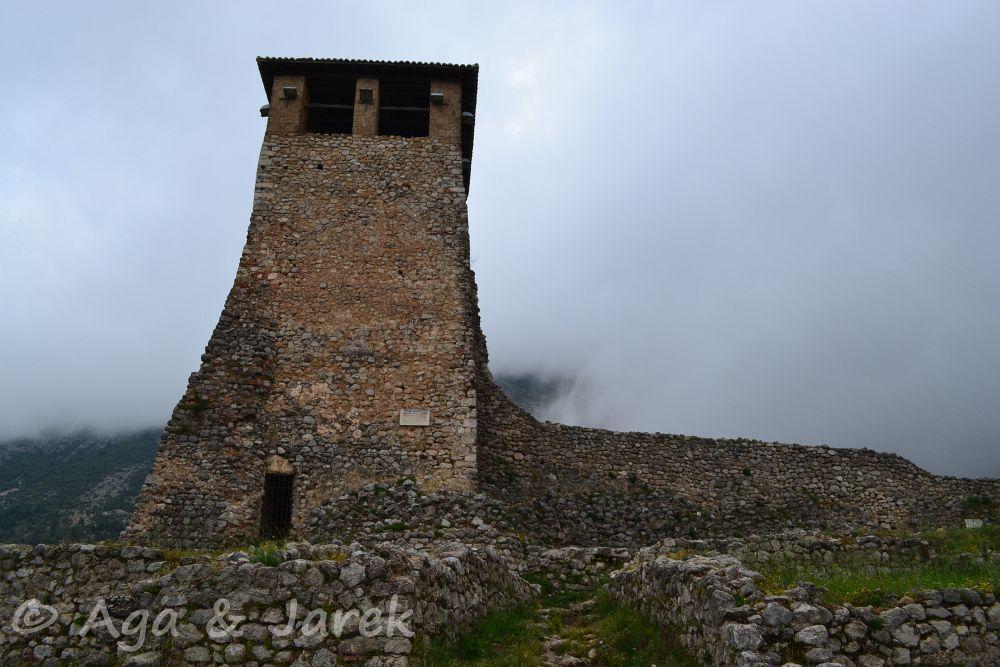 ruiny wieży