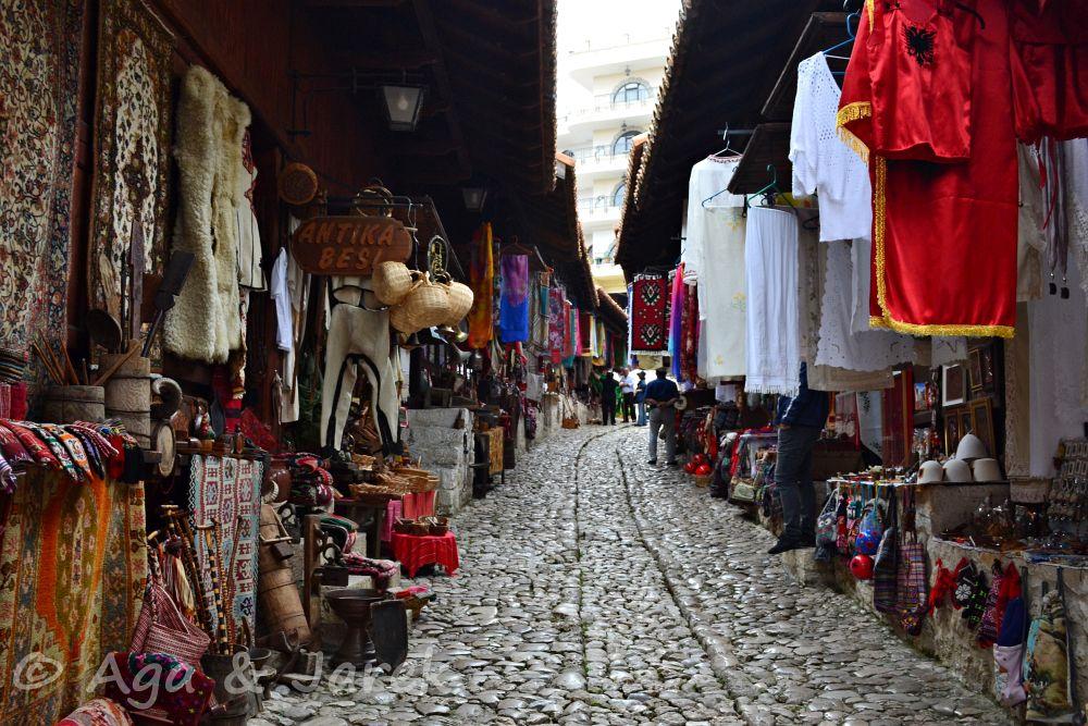 uliczka sprzedawców