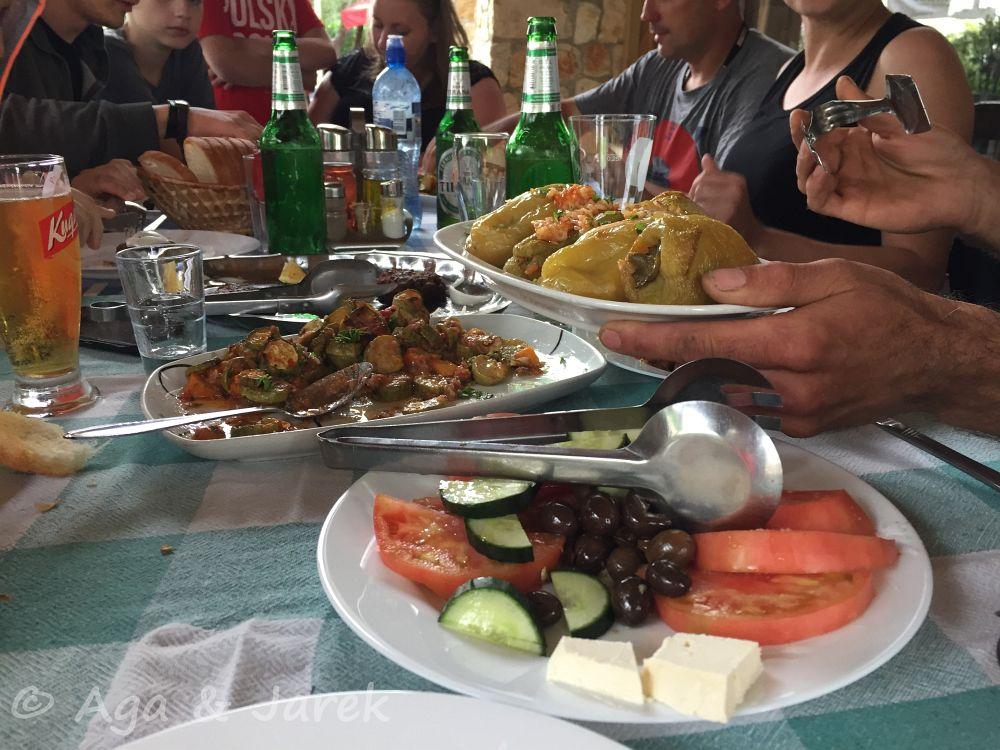 albański obiad