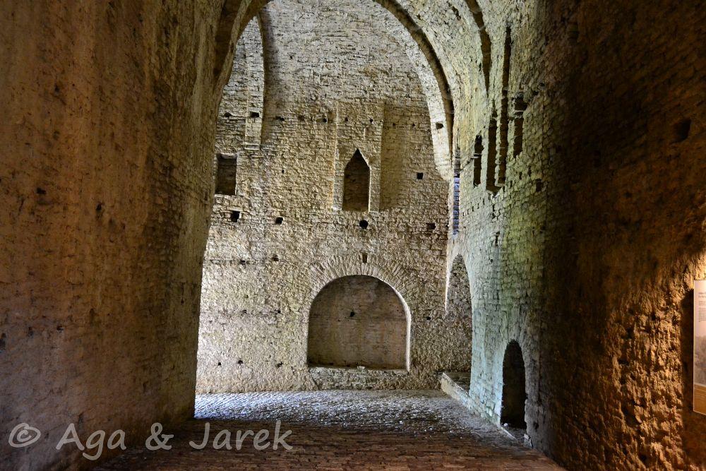 muzeum w ruinach fortu