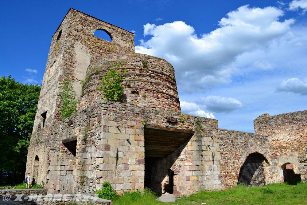 ruiny huty w samsonowie